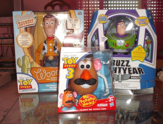 woody toy story collection italiano 2